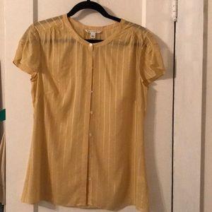 Banana Republic silk shirt